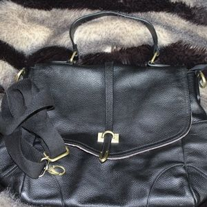 Paul & Joe sister genuine  leather bag